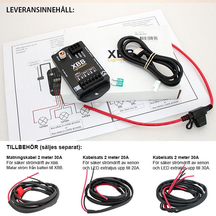 Xbb Lightswitch V4 Snabb Och Enkel Installation Av Extraljus